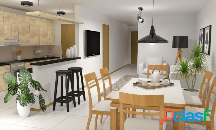 Semipiso a estrenar - un dormitorio, dos balcones - calidad premium - amenities - cochera - catamarca y moreno