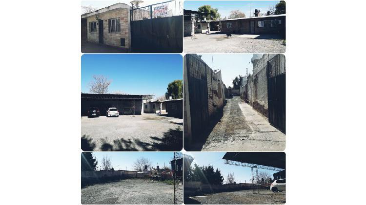 G romero propiedades vende terreno grande con 3 inmuebles,
