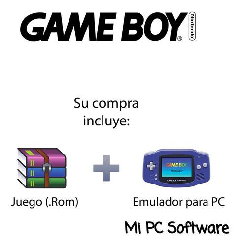 Juego donald duck advance + emulador gameboy para pc