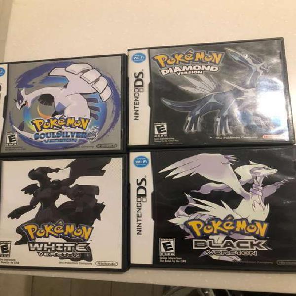 Juegos pokemon nintendo ds y 3ds