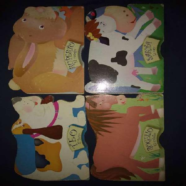 Libros de cuentos infantiles (10 libros, 3 colecciones)