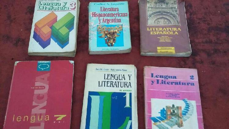 Libros de lengua y literatura