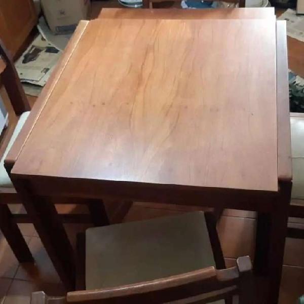 Mesa madera extensible practica util78x76
