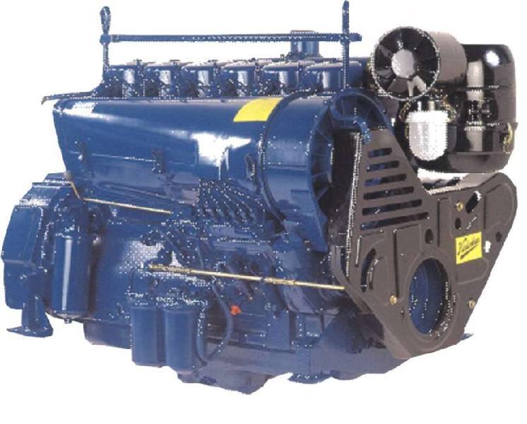 Motor diesel 110 hp refrigerado por aire modelo ha694 turbo