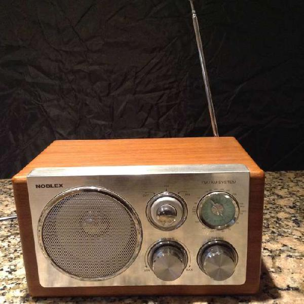 Radio Electrica Noblex Rx39m Am Fm Analogica Vintage Retro