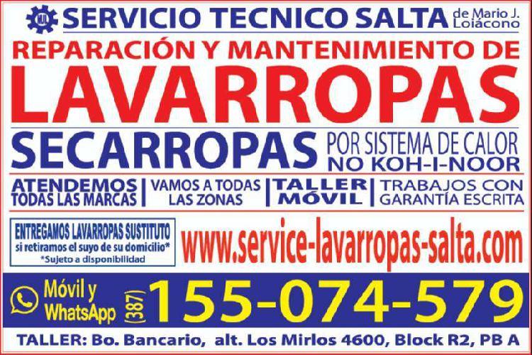Servicio tecnico de lavarropas