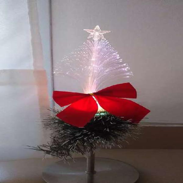 Velador navidad luz de noche árbol arbolito lámpara led