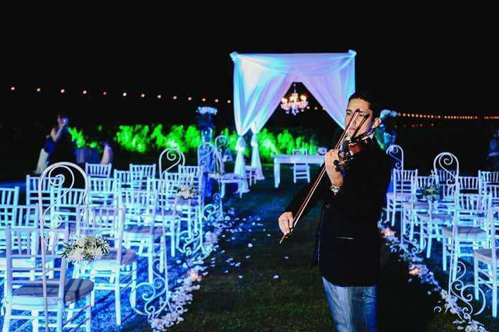 Violinista para fiestas y eventos