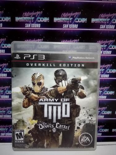 Army of two play station 3 ps3 juego