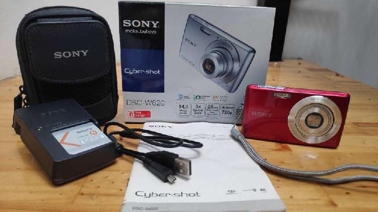 Camara digital sony dsc-w620 14 mpx nueva impecable con