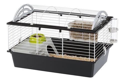 Casa jaula 1 mtro conejos erizos cobayos ferplast (italiana)