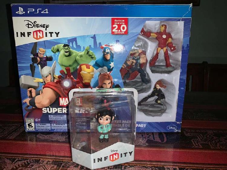 Disney infinity marvel super heroes + personaje vanellope