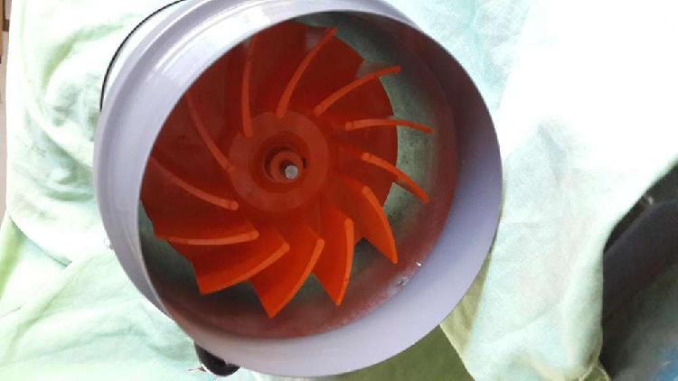 Extractor de aire indoor entre ducto de 6