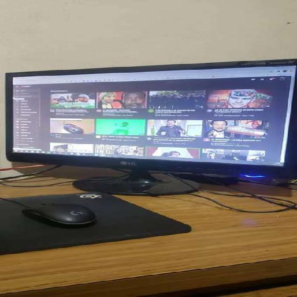 Pc gamer con monitor tv 23' full hd (hdmi)