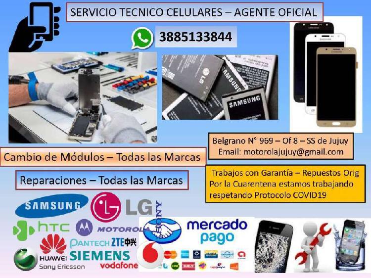 Servicio tecnico celuleres - tablet - notebook