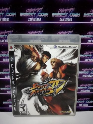 Street fighter iv play station 3 ps3 juego