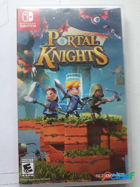 Juego nintrendo switch portal knights