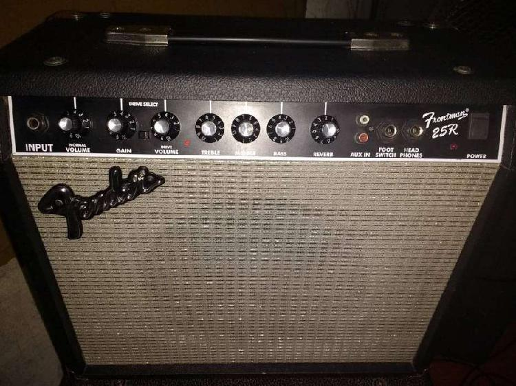 Amplificador fender frontman 25r impecable