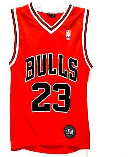 Camiseta basquet niño nba chicago bulls jordan lic oficial