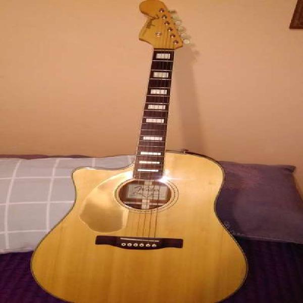 """Guitarra electroacustica fender """"kingman"""" para zurdos"""