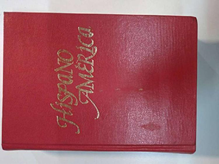 Libro diccionario hispanoamerica