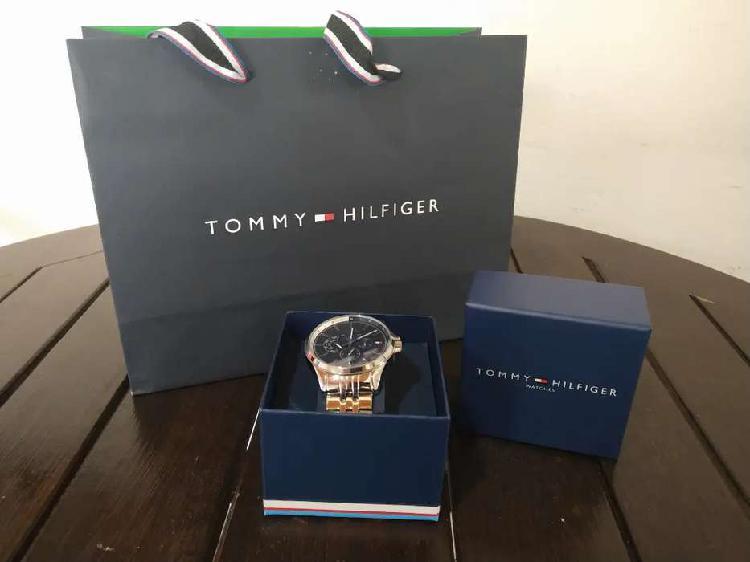 Reloj tommy hilfiger acero original