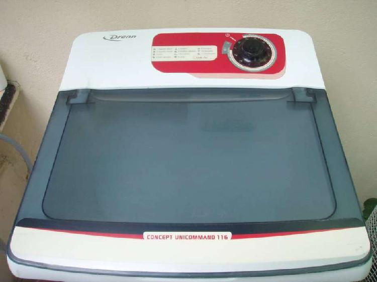 Tapa base, acrílico y panel de lavarropas drean unicommand