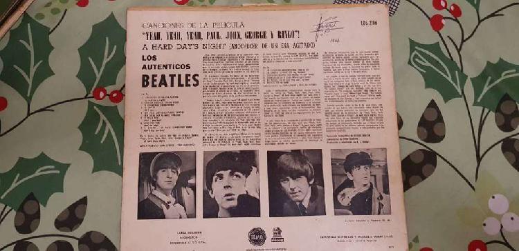 The beatles disco vinilo legendaria coleccion imperdible