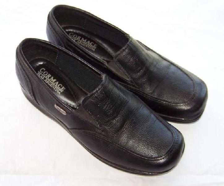 Zapatos Mujer Mocasin Acolchado Cormace Cuero Nº 36 Regalos