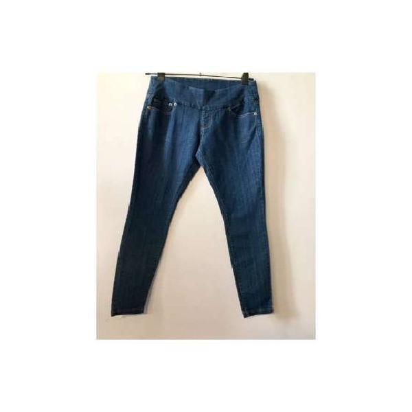 Calza de jean marca hue celeste. talle s.nueva