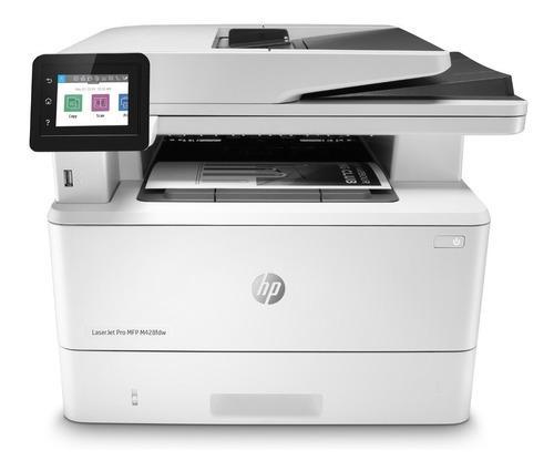 Impresora hp m428fdw fax duplex wifi multifuncion m428