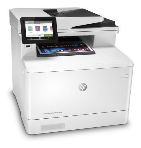 Impresora hp m479fdw laser color multifunción wifi fax