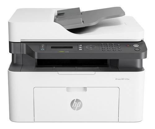 Impresora laser hp 137fnw multifuncion fax wifi escaner ctas