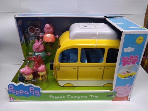 Peppa pig caravana familiar con accesorios sumun
