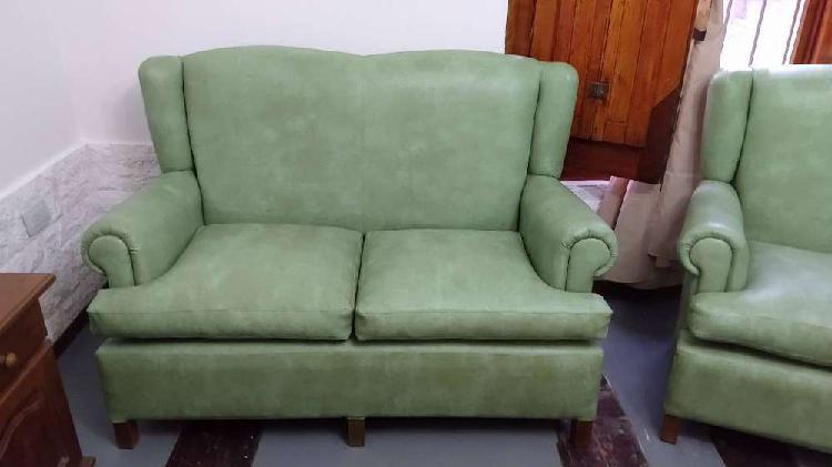 Juego de living 1 sofá y 2 individuales