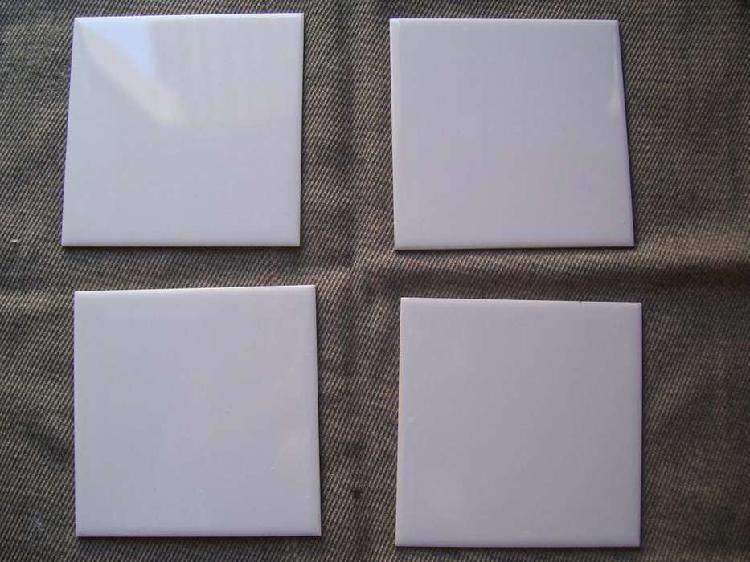 Azulejos color crema liso 15 x 15 cm nuevos san lorenzo