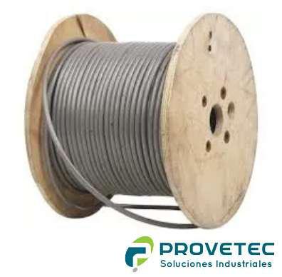 Cable de acero galvanizado super flexible (rollo) dif