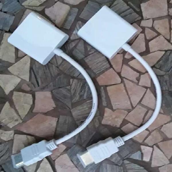 Cables adaptadores de hdmi a vga