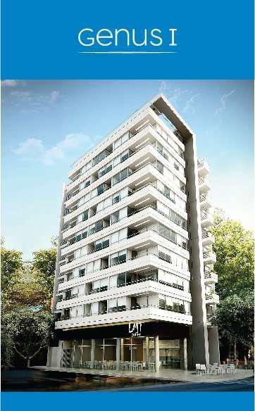 Departamento de 1 ambiente con balcón- edificio genus1