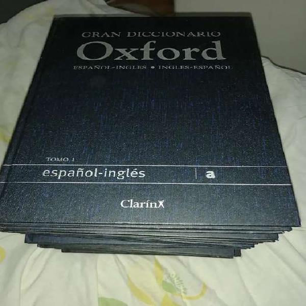 Diccionario oxford inglés-español, español-inglés