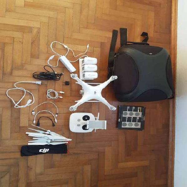 Drone dji phantom 4!! mochila/3baterias/accesorios