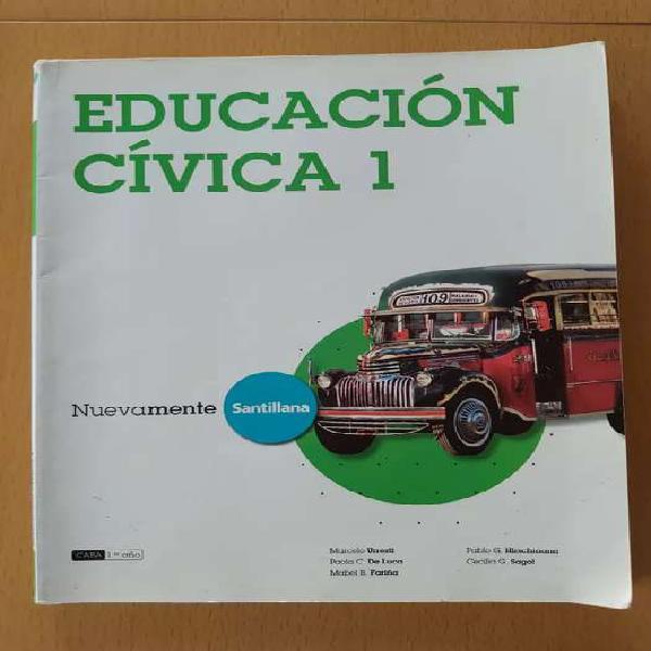 Educación cívica 1 santillana