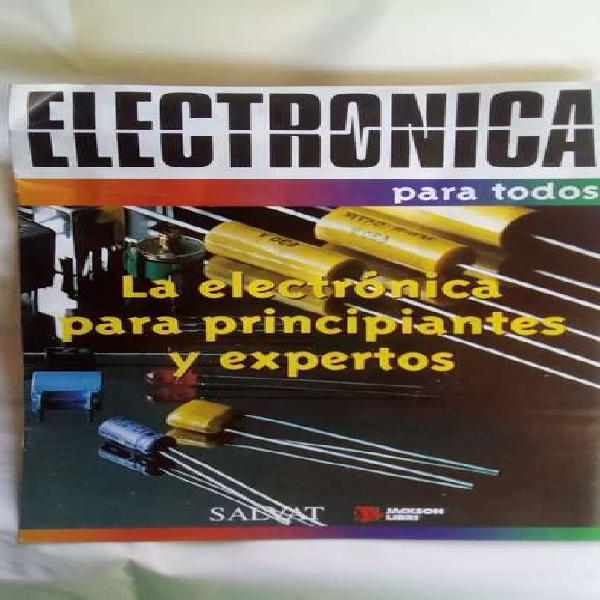 Electrónica de edit.salvat (fascículos con plaquetas)