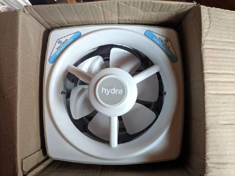 Extractor ventilador de aire hydra de 250mm blanco