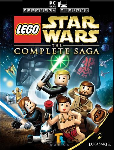 Lego star wars la saga completa juego pc digital español
