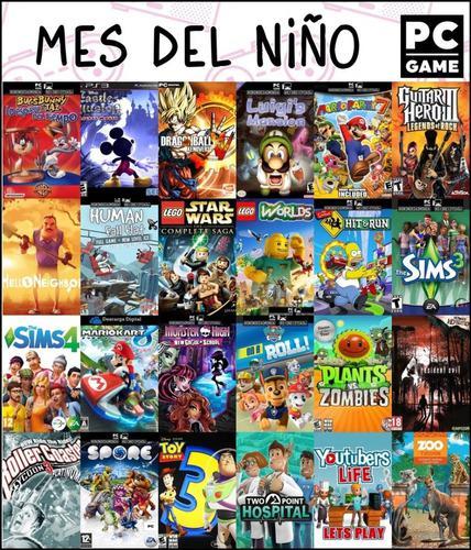 Mes del niño juegos pc digitales todos los títulos