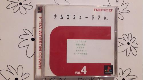 Namco museum volumen 4 original físico playstation 1