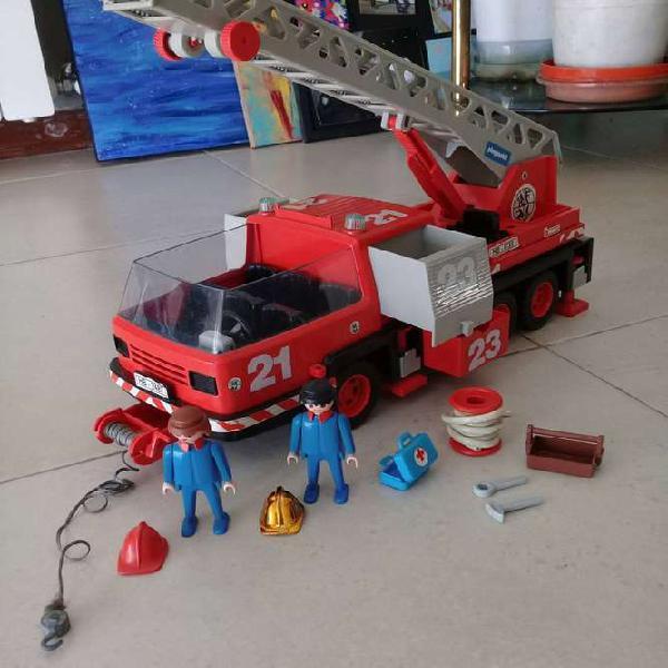 Playmobil 1981 camión de bomberos