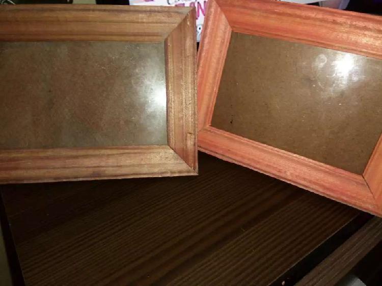 Portaretratos marco madera