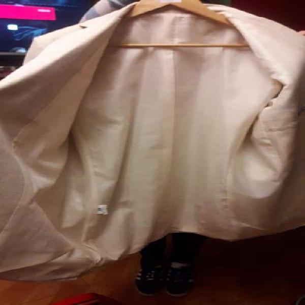 Saco y pantalon de lino